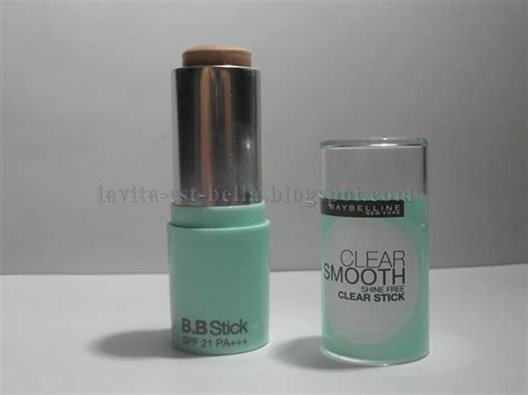Maybelline Stick Foundation la vita est review maybelline clear smooth bb stick