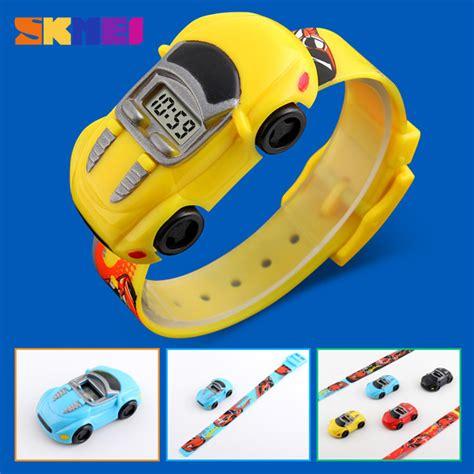 Jam Tangan Anak Karakter Cars Skmei Dg1241 skmei jam tangan led anak anak bentuk mobil dg1241 jakartanotebook