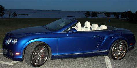 convertible bentley cost test drive bentley gt speed convertible business insider