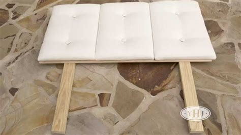how to make a headboard how to make a headboard youtube