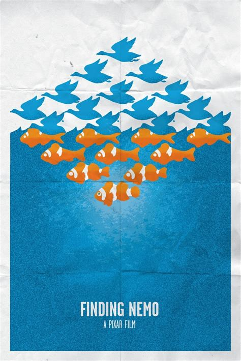 finding nemo poster finding nemo minimalistic posters posters