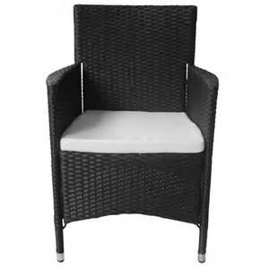 polyrattan stuhl schwarz der 2 poly rattan sessel stuhl schwarz shop vidaxl de