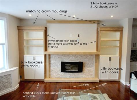 How To Build Bookcases Around A Fireplace by 25 Best Ideas About Shelves Around Fireplace On