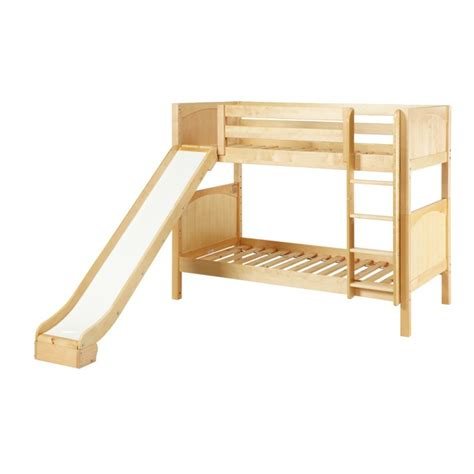 Bunk Bed W Slide Jolly Bunk Bed With Ladder Slide Solid Maple