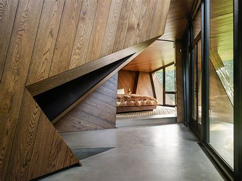 stunning sculptural home astonishes  dramatic design