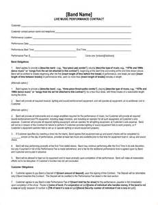 performance contract template 7 performance contract template timeline template