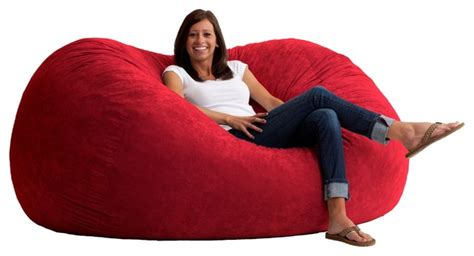 comfort research 4 foot large fuf in comfort suede extra large fuf beanbag chair 6 bean bag chairs