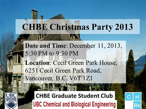 chbe graduate students council where chbe ubc events further details on chbe 2013 chbe