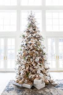 best 25 flocked christmas trees ideas on pinterest