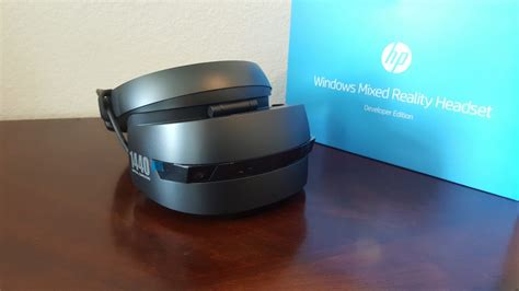 Vr Hp impressions what we think of the hp windows vr headset dev kit