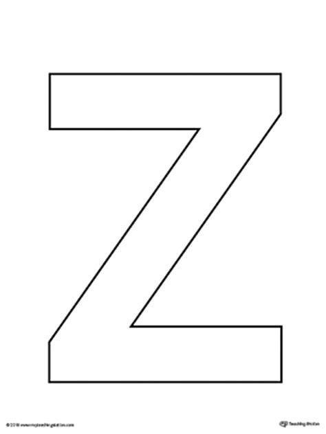 letter z template letter z tracing printable worksheet myteachingstation