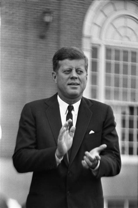 [President Kennedy in Fort Worth in the parking lot of the