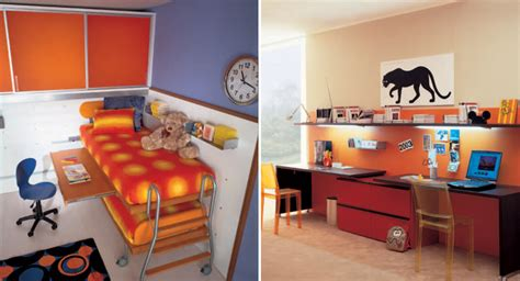 cool bedrooms for kids cool and ergonomic bedroom ideas for two children by