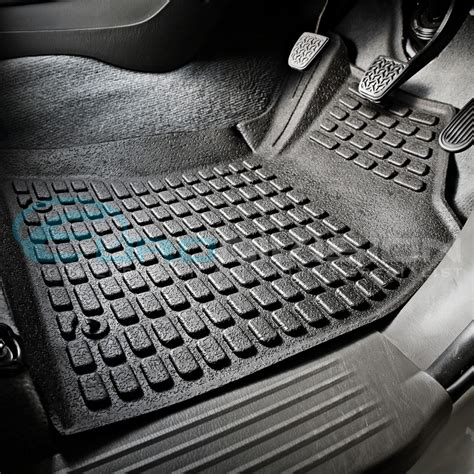 Toyota Hilux Rubber Floor Mats Toyota Hilux 2005 To 2011 3d Rubber Floor Mats Custom
