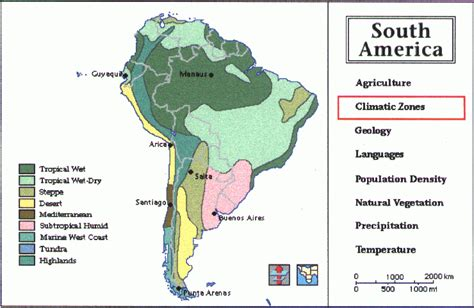 andes mountains map topography of the andes