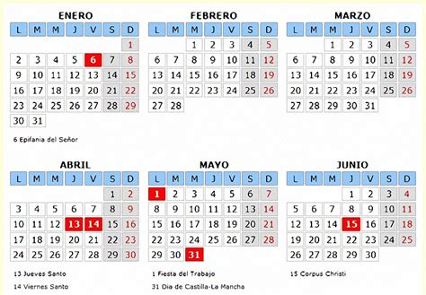 calendario laboral de castilla la mancha gobierno de review ebooks calendario laboral de pozuelo de calatrava para el a 241 o