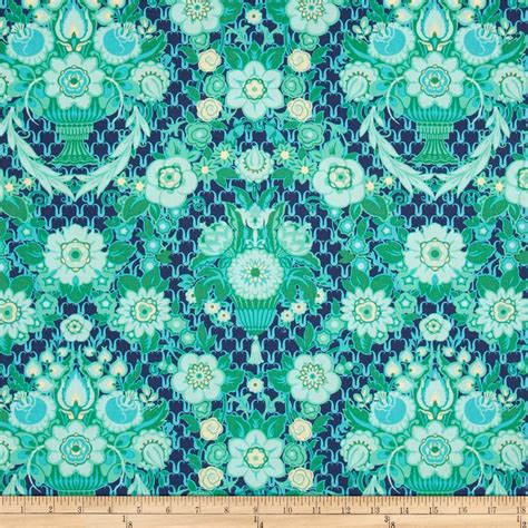 Amy Butler Home Decor Fabric by Amy Butler Violette Garden Fete Midnight Discount