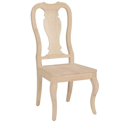 queening bench queen anne dining side chair free shipping