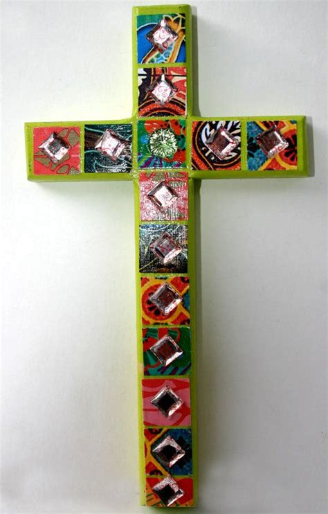 decoupage crosses 1000 ideas about wall crosses on cross crafts