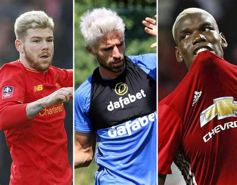 black premier league players hair styles players struck by the bleached blonde curse sport