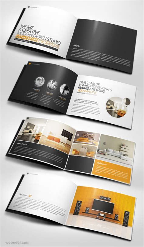 design inspiration for brochures 26 best and creative brochure design ideas for your