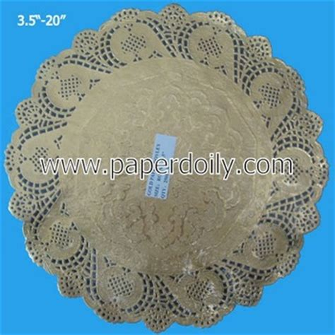 Coloured Paper Doyleys 55 100pcs 14 inch gold doilies 95sizes in oval rect square