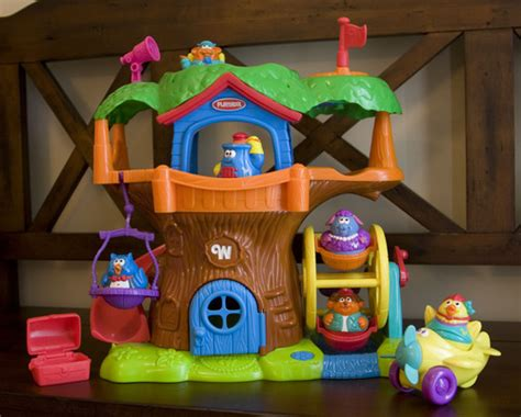 Playskool House by Playskool Weebles Tree House Toys