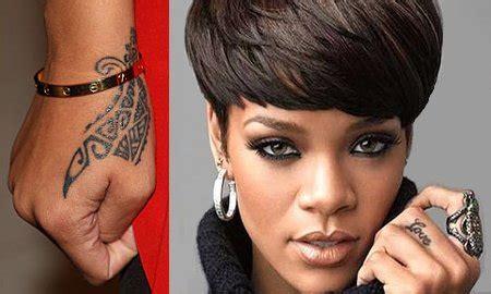 tattoo rihanna wrist rihanna s tattoo meaning revealed brad s is secret