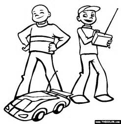 Rc Car Coloring Pages remote coloring coloring pages