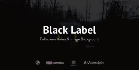 themes black label black label fullscreen video image background by