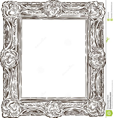 Mirror Frame Ideas by Antique Ornate Frame Stock Image Image Of Visual