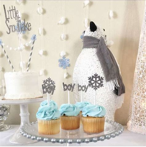 Winter Themed Baby Shower Ideas by 102 Best Winter Baby Shower Ideas Images On