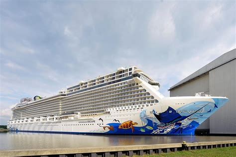 largest cruise line cruise line takes delivery of their largest