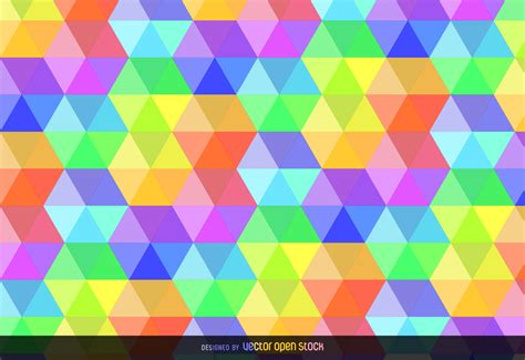 background vector pattern colorful colorful hexagonal background vector download