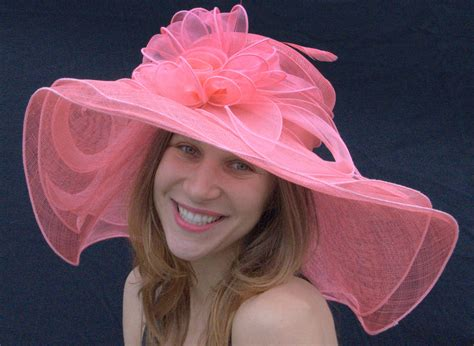 sinamay straw s hat wide brim hat for the kentucky