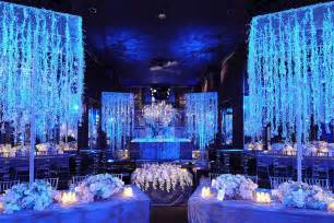 winterhochzeit dekoration luxurious blue wedding decorationwedwebtalks wedwebtalks