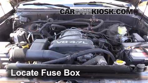Blown Fuse Check 1998 2007 Lexus Lx470 1999 Lexus Lx470