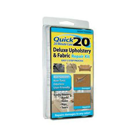 car seat upholstery repair kit quick 20 deluxe upholstery fabric repair kit repair