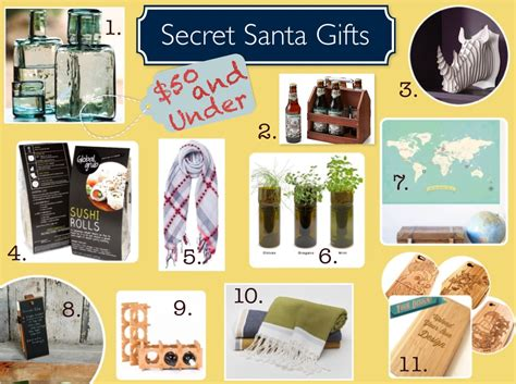 unisex gift exchange ideas ethical secret santa gifts under 50 made to travel com