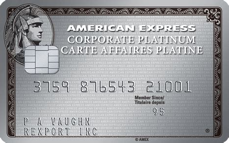 American Express Ca Gift Card - corporate platinum card american express canada