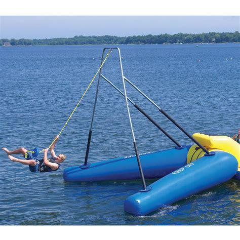 rope swing water gander mountain 174 gt rave rope swing gifts recreation