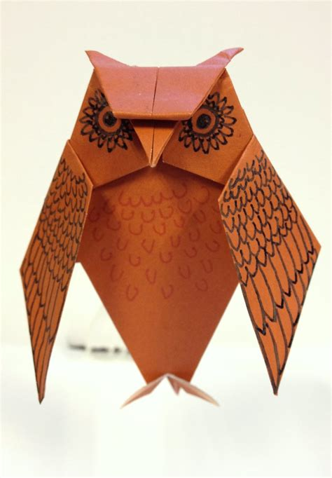 The Origami Owl - origami owl by kusmeroglu on deviantart