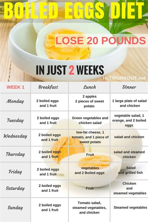Dieting You The 5 Factor Diet by The Boiled Egg Diet Can Help You Lose Up To 24 Pounds In