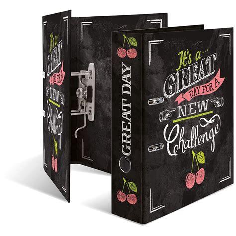 Herma Ordner Etiketten Online Drucken by Herma Motivordner Quot Shabby Chic New Challenge Quot Din A4