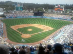 Dodger stadium section 2rs row r seat 20 los angeles dodgers vs