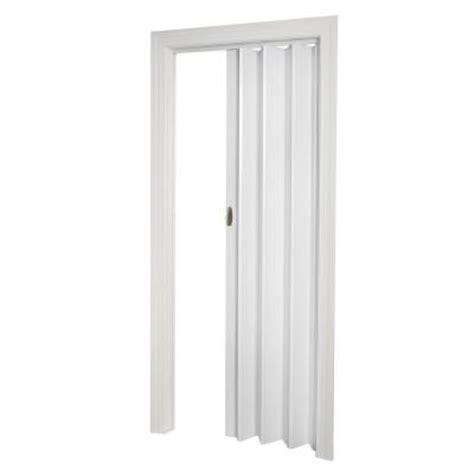 accordion closet doors home depot spectrum 32 in x 80 in fusion white accordion door
