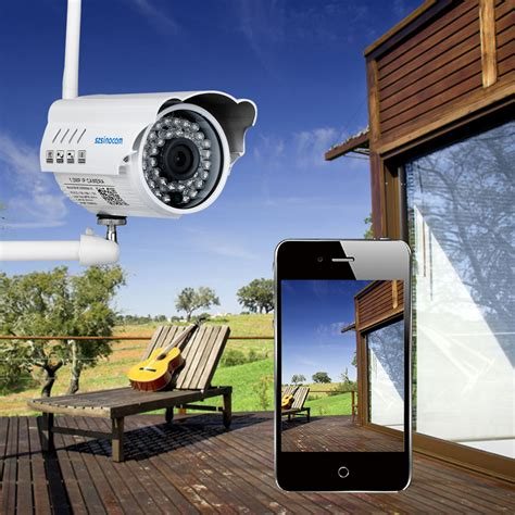 hd 720p wifi wireless ip network cctv outdoor home
