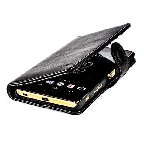 Limited Sony Xperia Z5 Premium Leather Flip Cover Cas Diskon 1 snakehive 174 sony xperia z5 premium leather wallet flip