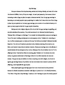 Same Marriage Essays by Marriage Persuasive Essay A Level Sociology Marked By Teachers