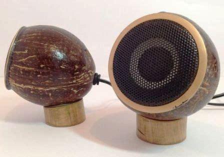 cara membuat lu hias unik dari batok kelapa salon loud speaker unik dari batok kelapa dan bambu